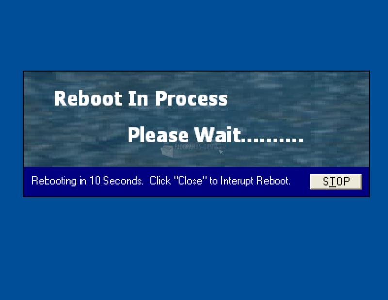 Pantallazo Reboot
