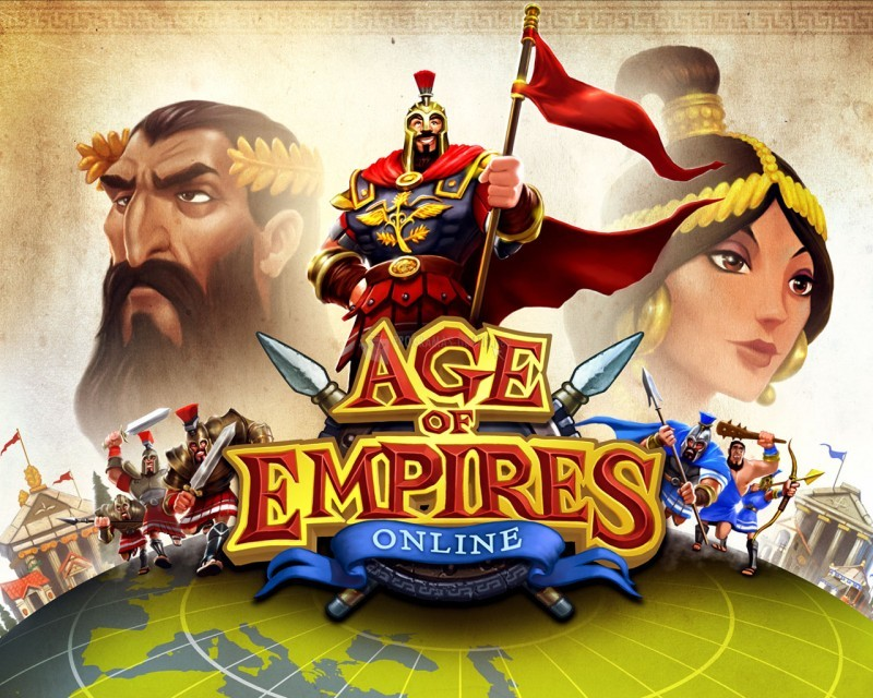 Pantallazo Age of Empires Online Wallpaper