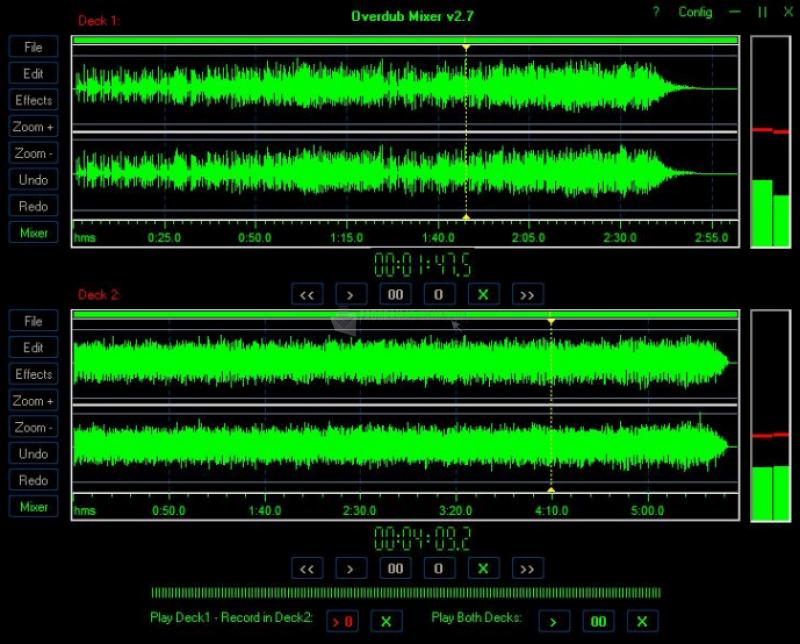 Pantallazo Overdub Mixer