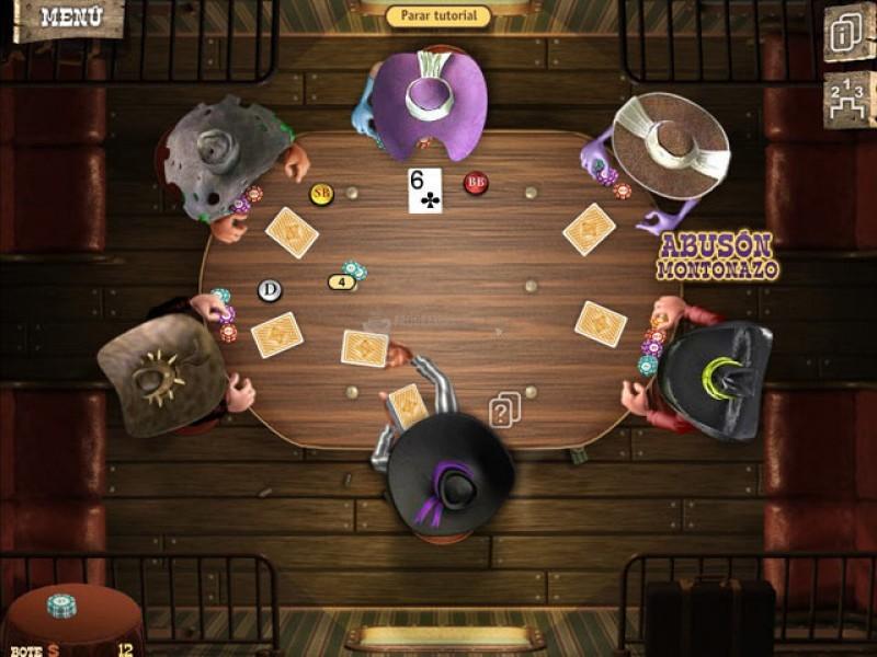 Pantallazo Gobernador del Póquer 2