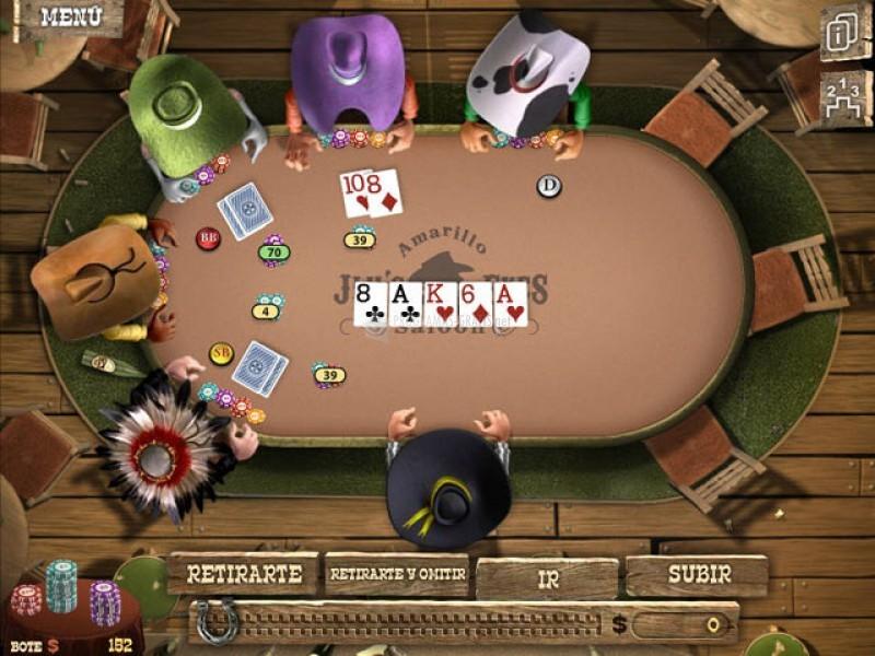 El gobernador del poker 2 juegos gratis