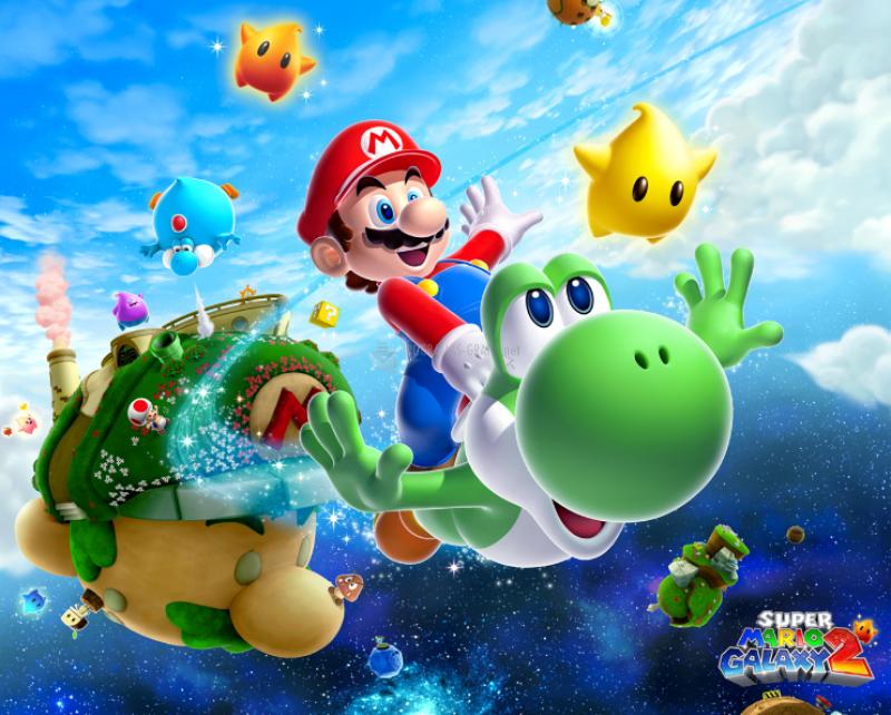 Pantallazo Super Mario Galaxy 2