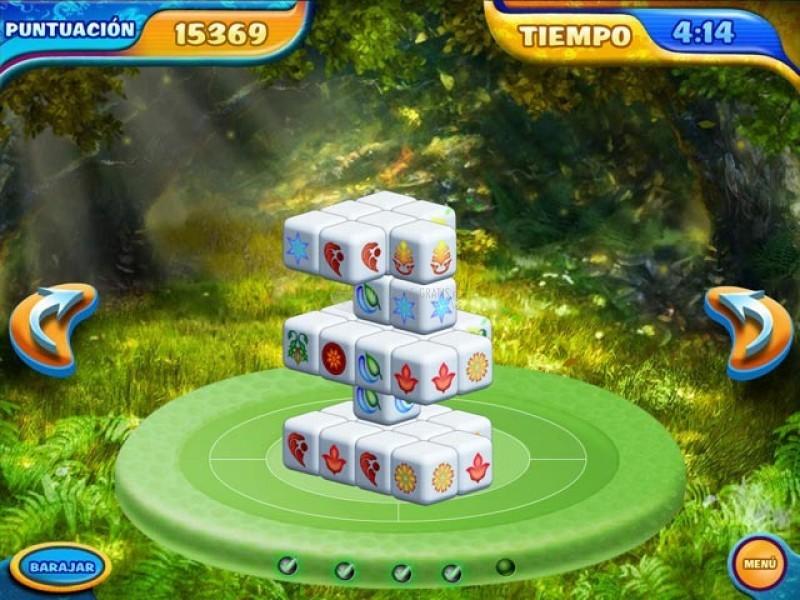 Pantallazo Mahjongg Dimensions Deluxe