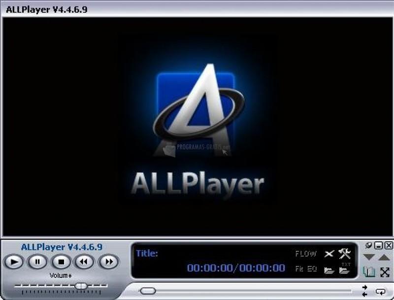 Pantallazo AllPlayer Portable