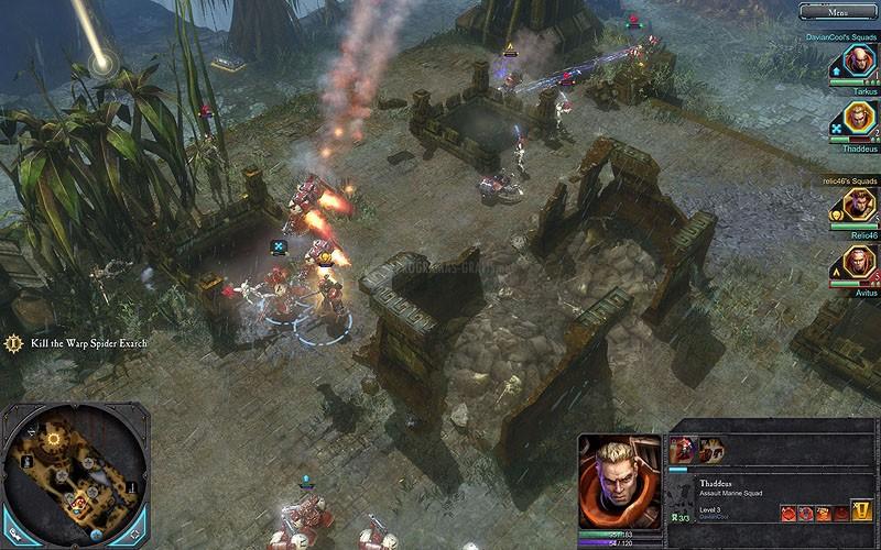 Pantallazo Warhammer 40.000: Dawn of War II