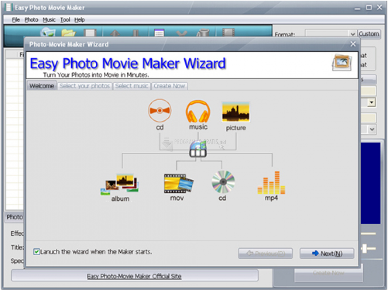 Pantallazo Easy Photo Movie Maker