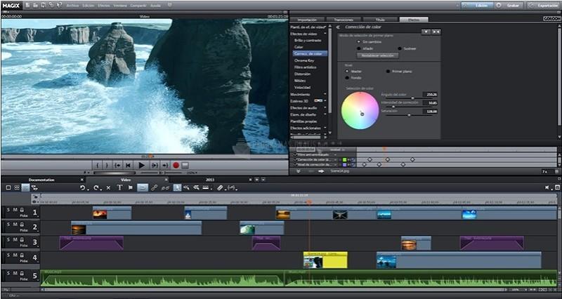 Pantallazo Magix Video Deluxe Premium