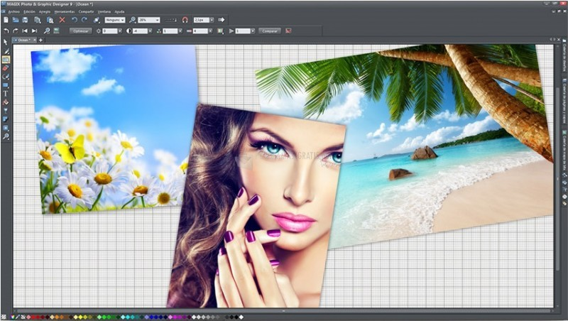 Pantallazo Magix Photo & Graphic Designer
