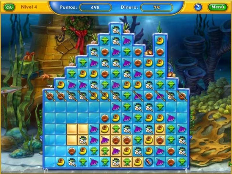 Pantallazo Fishdom: Seasons Under the Sea