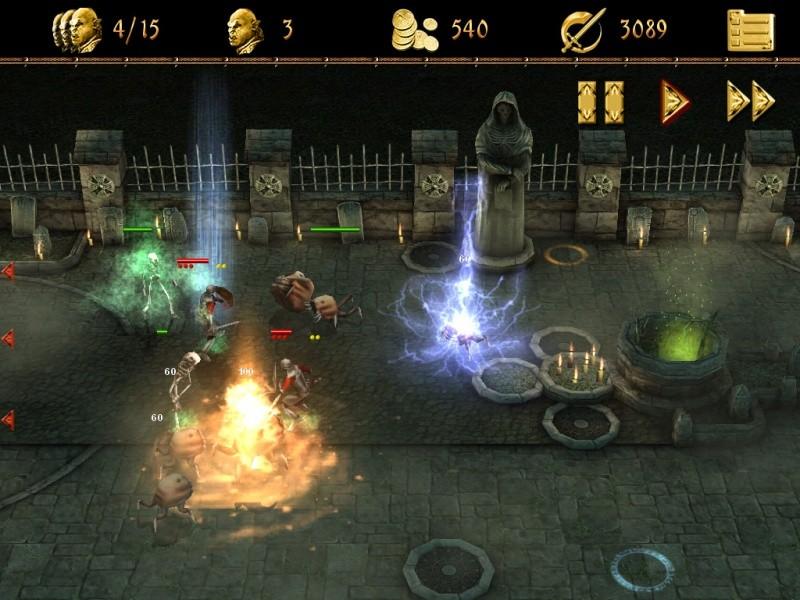 Pantallazo Two Worlds 2: Castle Defense Lite