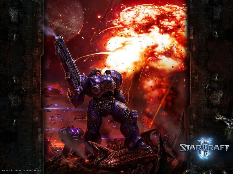Pantallazo Starcraft 2 Terran