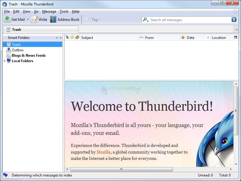 Pantallazo Thunderbird