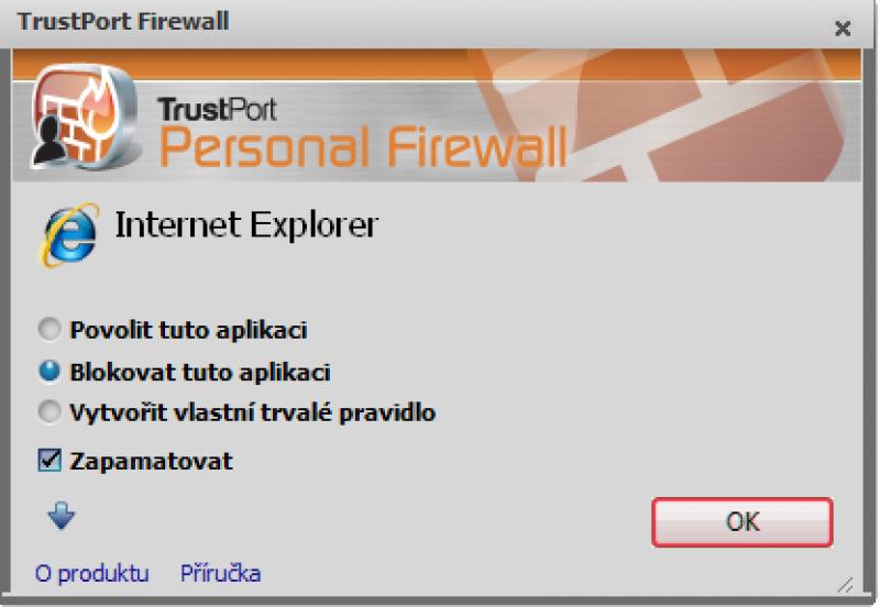 Pantallazo TrustPort Internet Security