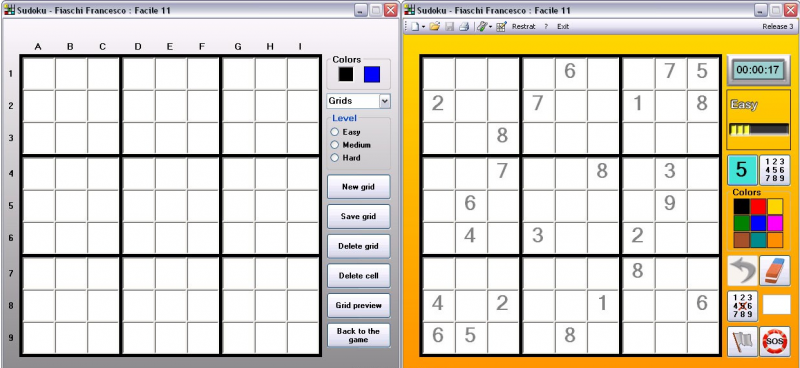 Pantallazo Sudoku Fiaschi Francesco