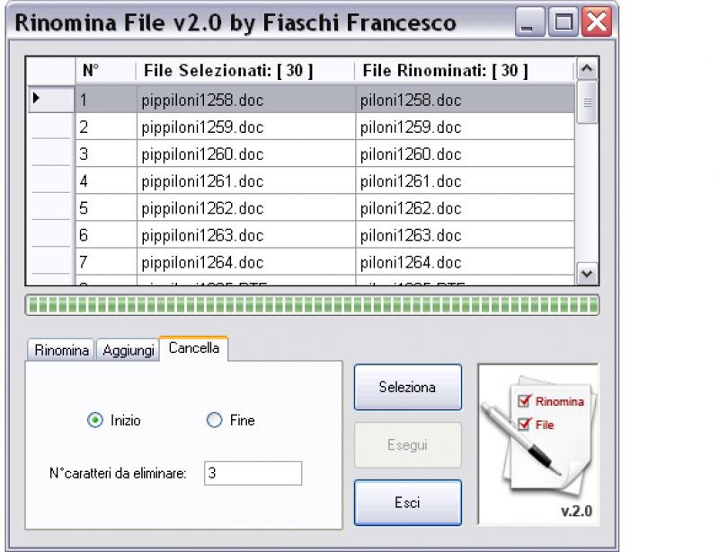Pantallazo Rinomina File