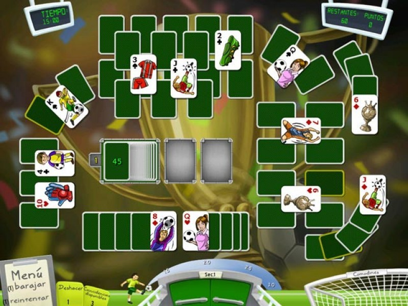 Pantallazo Soccer Cup Solitaire
