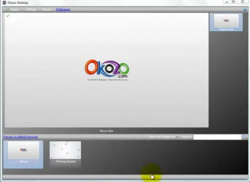 Pantallazo Okozo Desktop