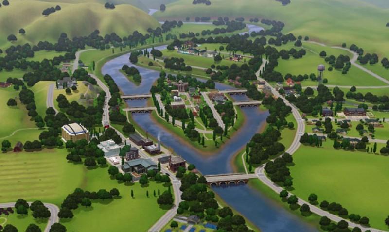 Pantallazo Sims 3: Riverview