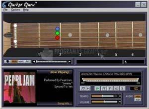 Pantallazo Guitar Guru