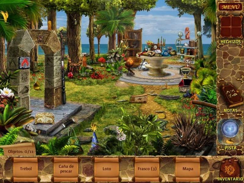 Pantallazo Mysteries of Magic Island