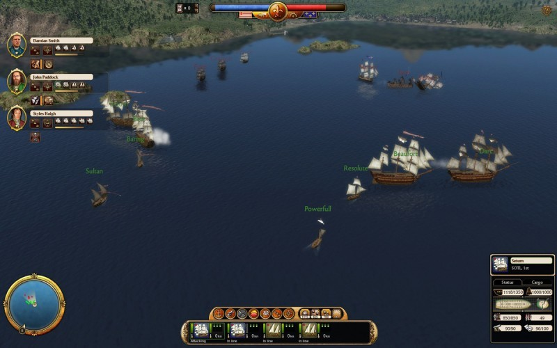 Pantallazo Commander: Conquest of the Americas