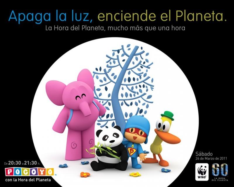 Pantallazo La Hora del Planeta con Pocoyó