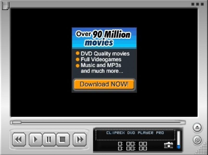 Pantallazo Cliprex DVD Player Professional
