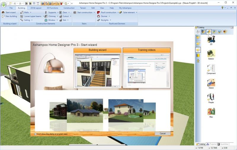 Pantallazo Home Designer Pro