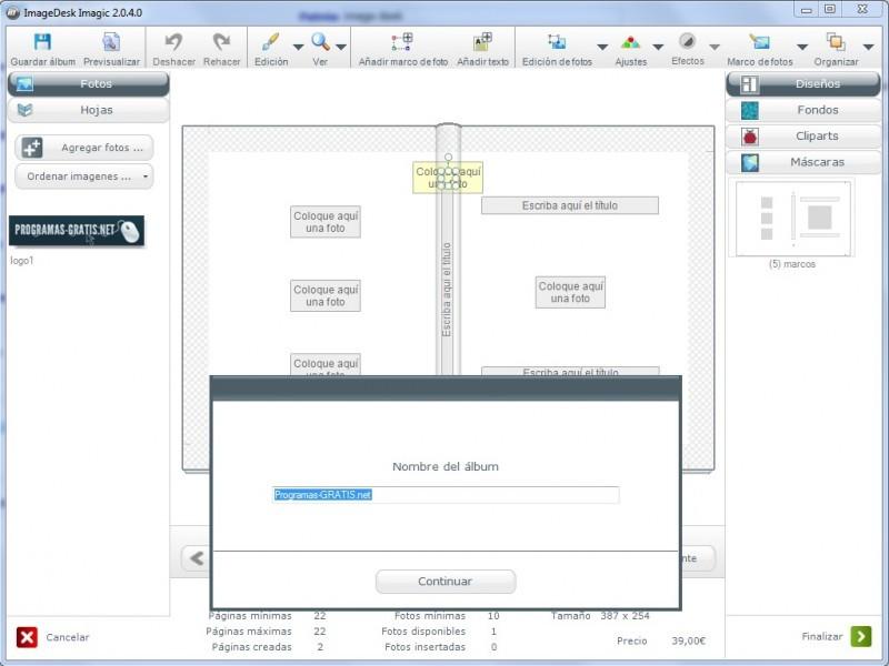 Descargar ImageDesk Imagic 2.0.4.0 Gratis Para Windows