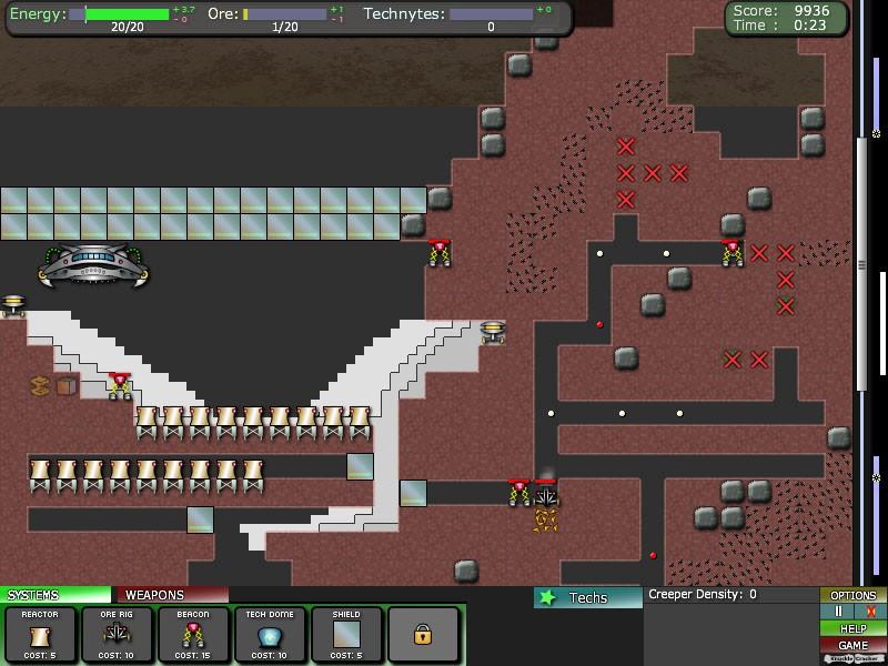 Pantallazo Creeper World 2