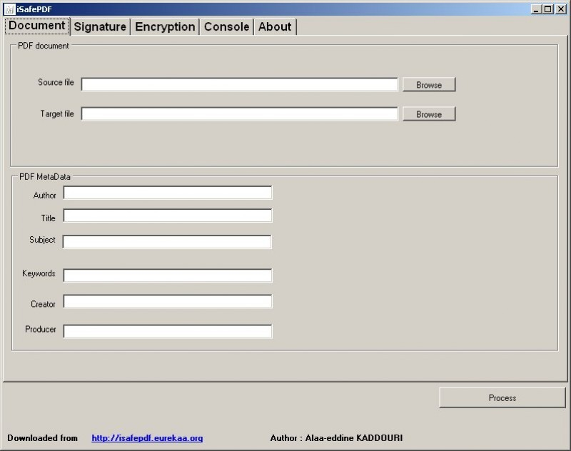 Pantallazo iSafe PDF
