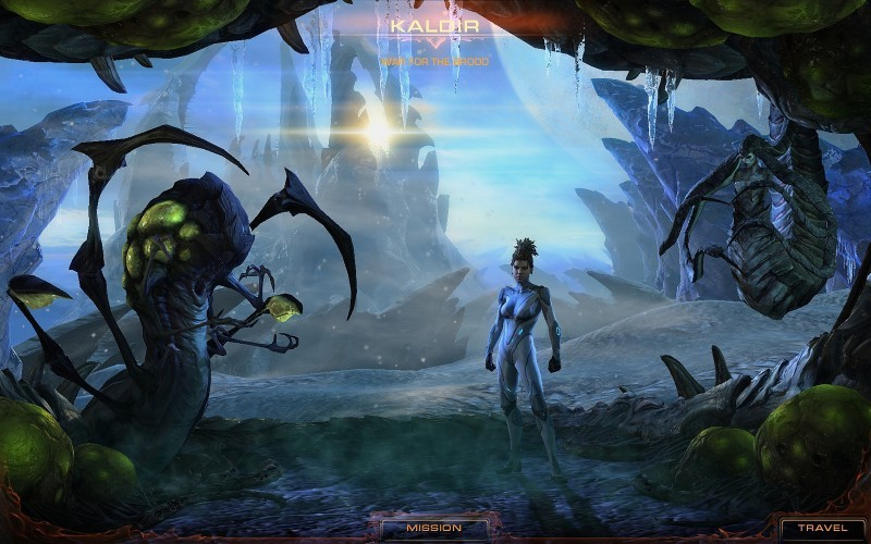 Pantallazo StarCraft 2: Heart of Swarm