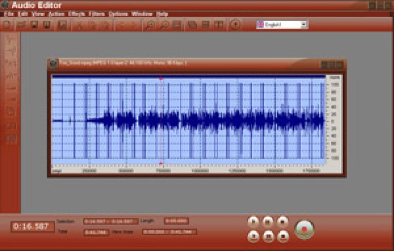 Pantallazo BPS Audio Editor