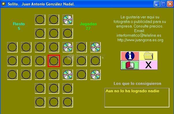 Pantallazo Juegos Mentales : Solito