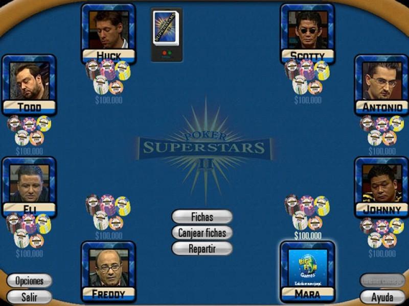 Pantallazo Poker Superstars 2
