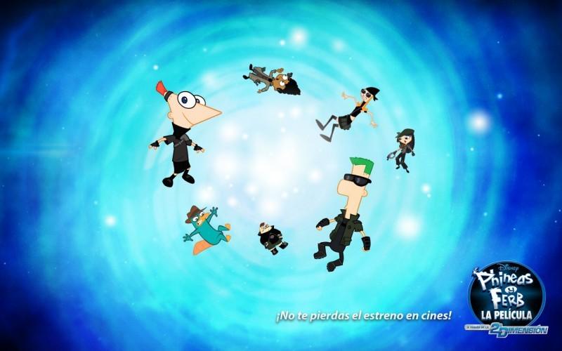 Pantallazo Phineas y Ferb