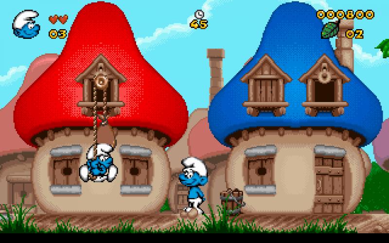 Pantallazo Los Pitufos (The Smurfs)