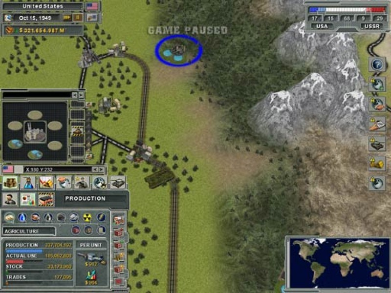 Pantallazo Supreme Ruler: Cold War