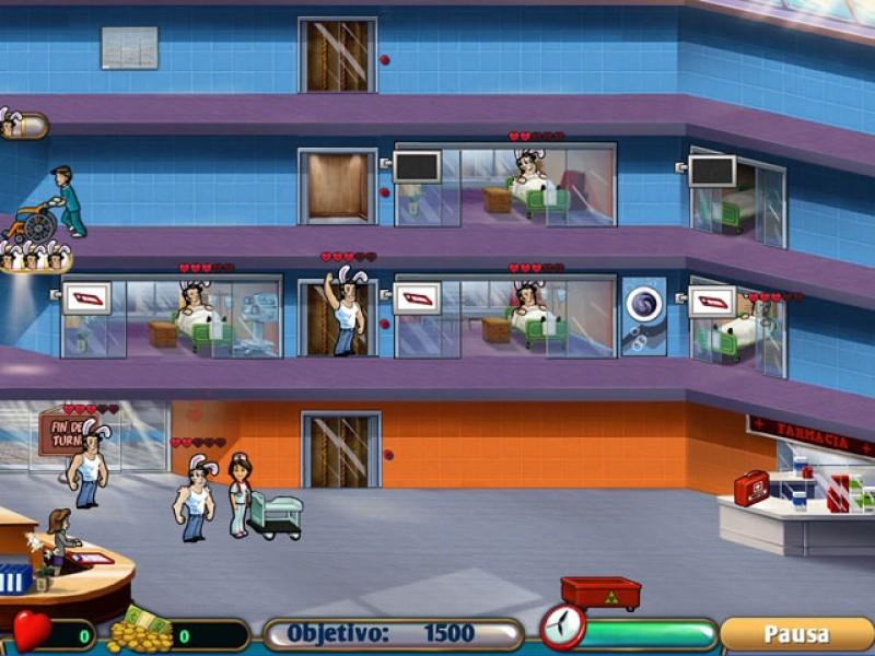 Pantallazo Hospital Haste
