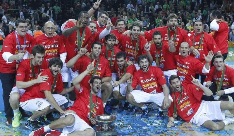 Pantallazo Eurobasket 2011: España