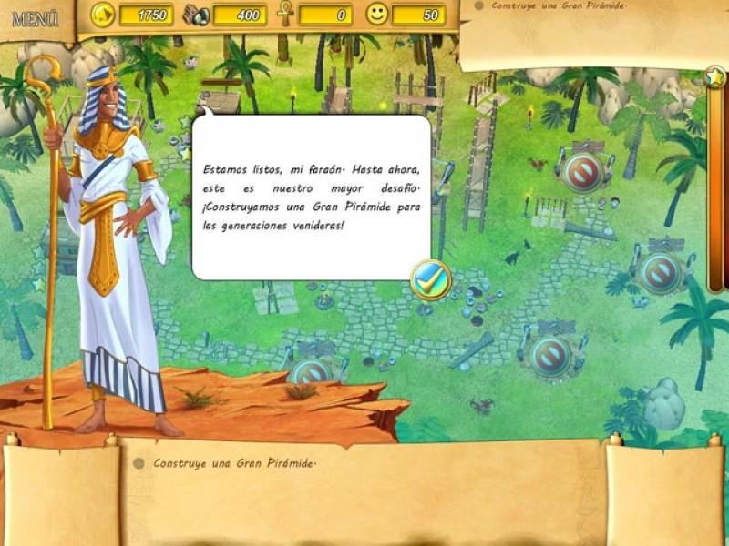Pantallazo Fate of the Pharaoh