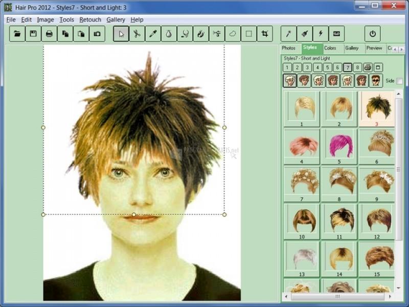 Pantallazo Hair Pro