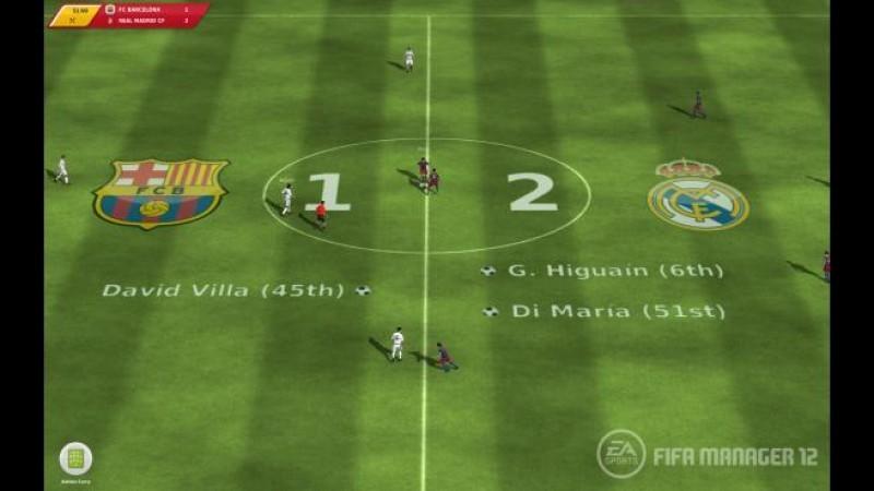 Pantallazo FIFA Manager 12