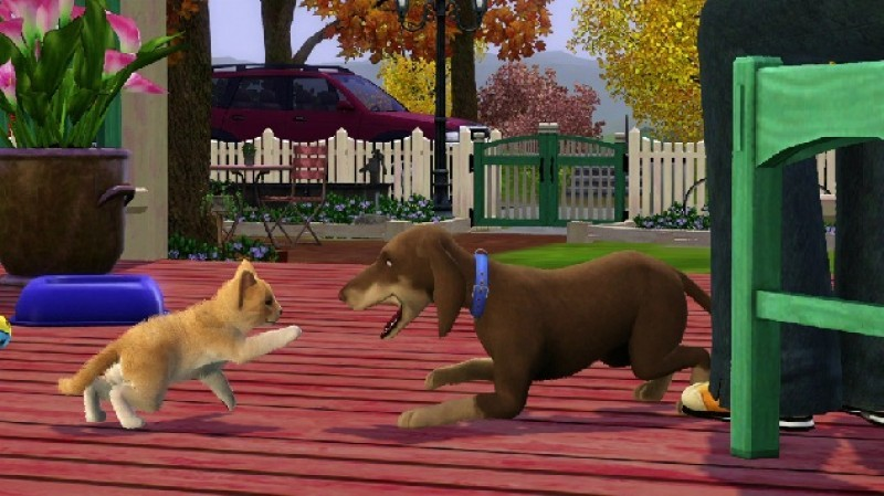 Pantallazo Los Sims 3: ¡Vaya Fauna!