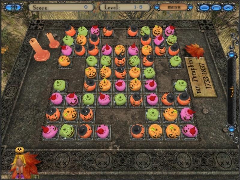 Pantallazo Halloween Night: Pumpkins Match