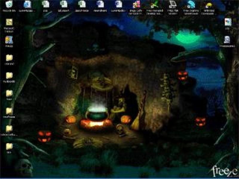 Pantallazo Halloween Animated Wallpaper