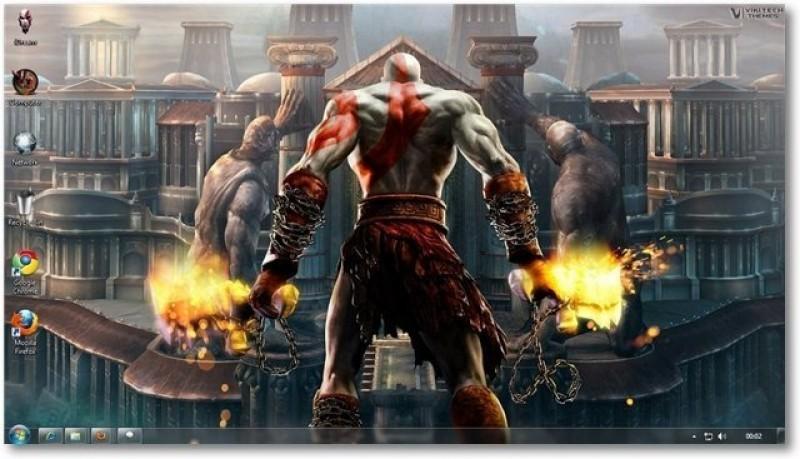 Pantallazo God of War 3 Theme
