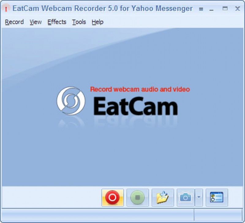 Pantallazo Webcam Recorder for Yahoo