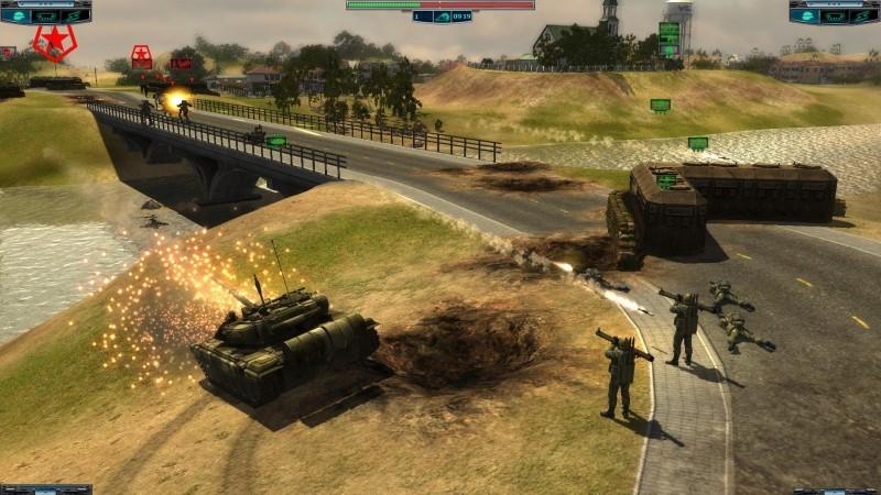 Pantallazo Elements of War Online