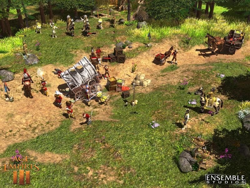 Pantallazo Age of Empire III